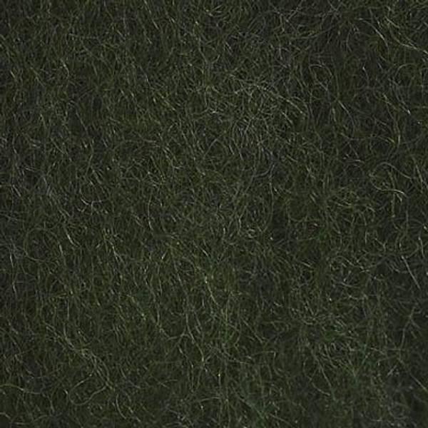 Bilde av Kardet ull, mosegrønn 100g