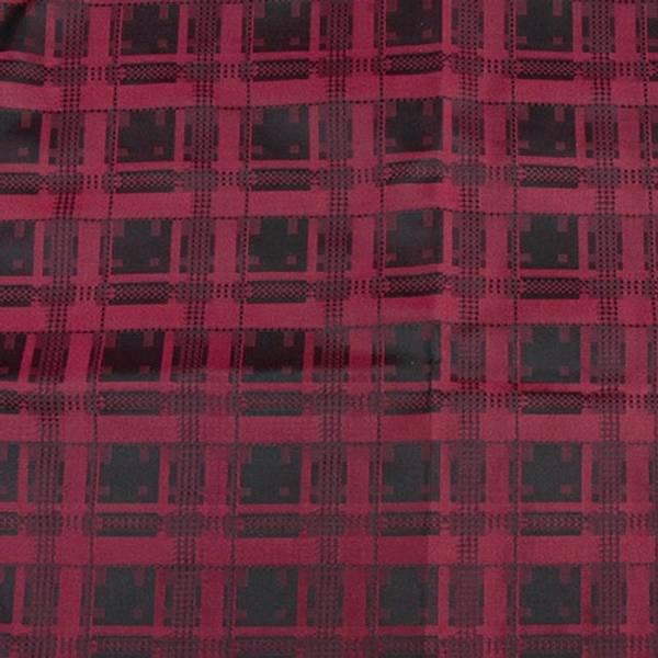 Bilde av Nordland silkesløyfe 11x 125 cm, sort-rød